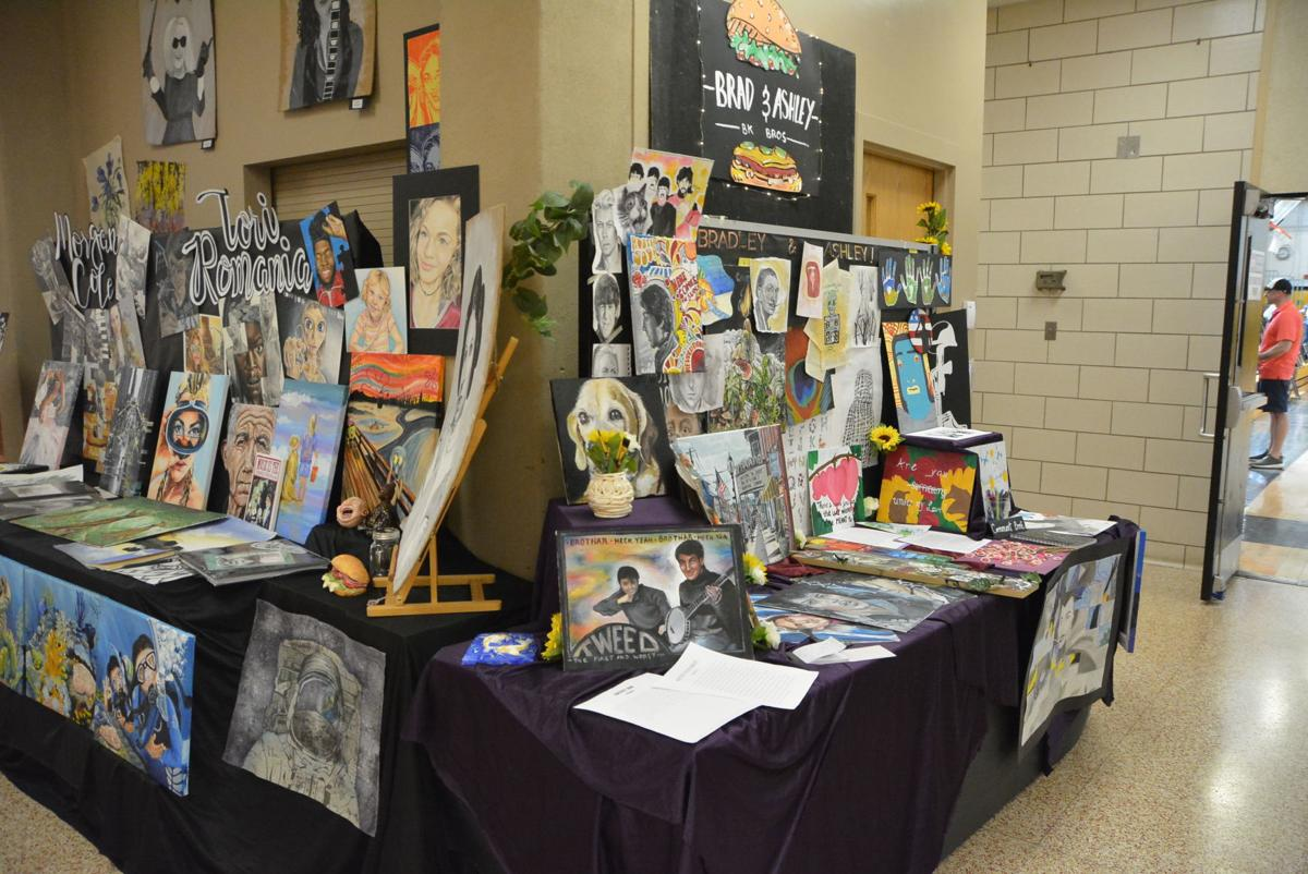Southern Columbia students' art shines