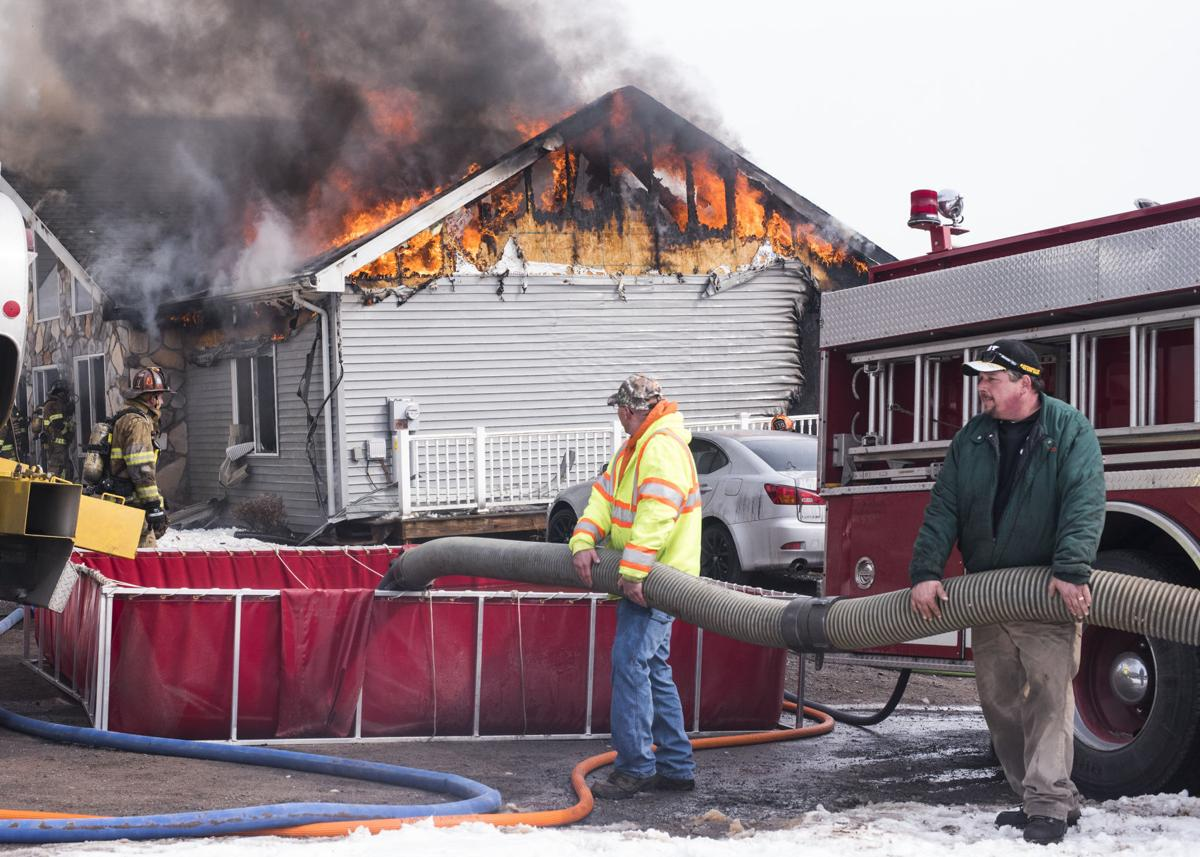 East Cameron Township fire