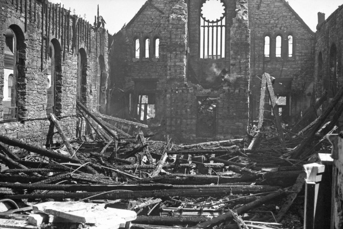 St. Edward's Catholic Church fire