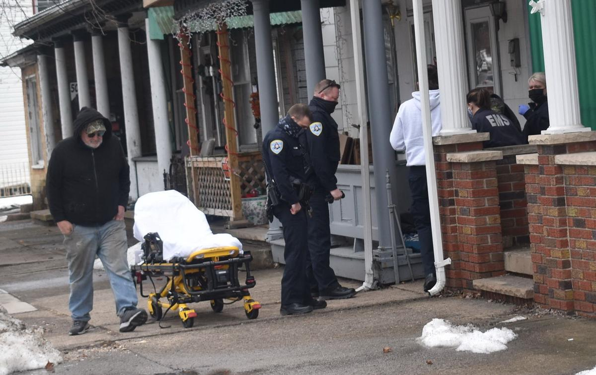 Emergency responders stabbing