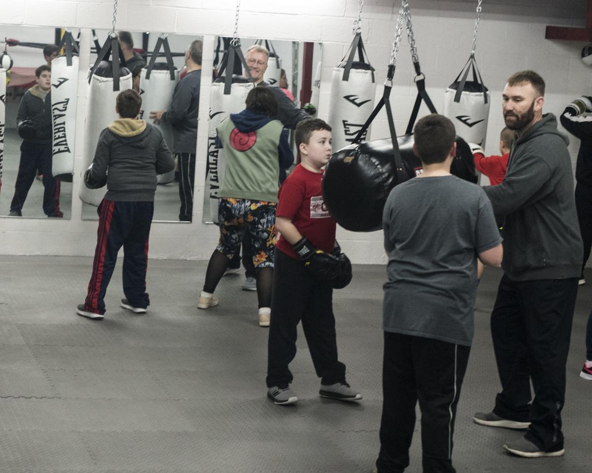 Boxing classes at Coal Region Sports