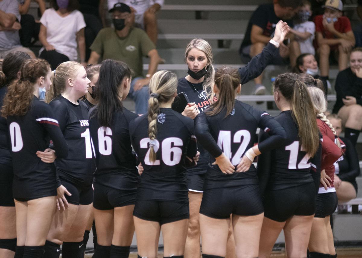 Lourdes versus Schuylkill Haven volleyball