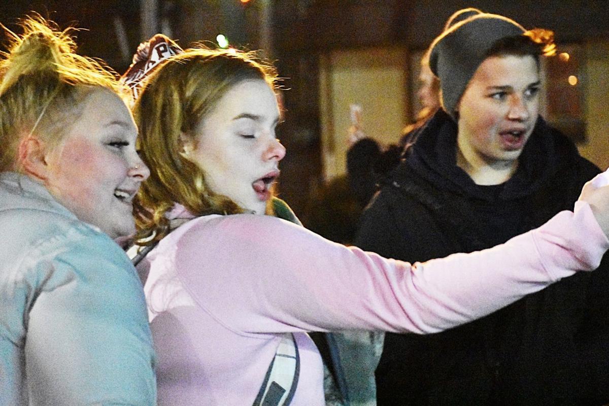Coal Drop selfie trio