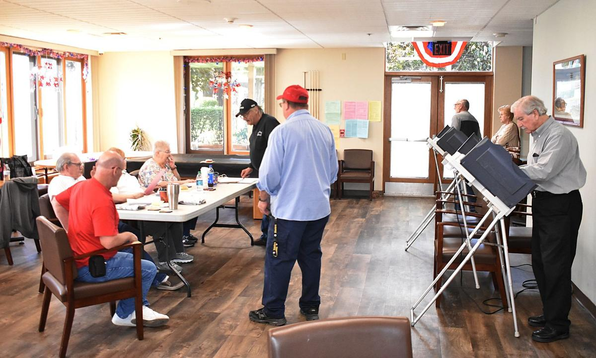 Shamokin's 4th Ward polling station busy on Election Day