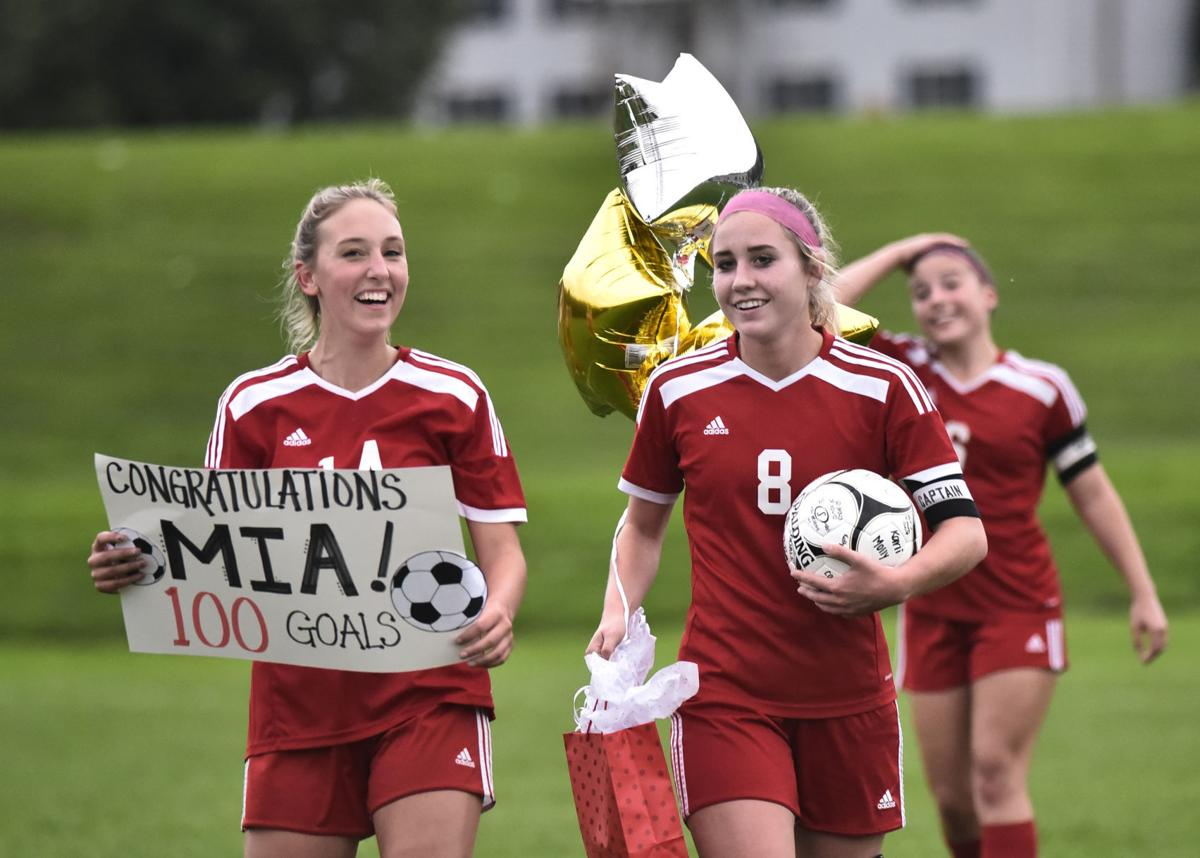 Chapman celebrates milestone in soccer win
