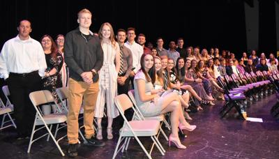SAHS Scholastic Awards Program students
