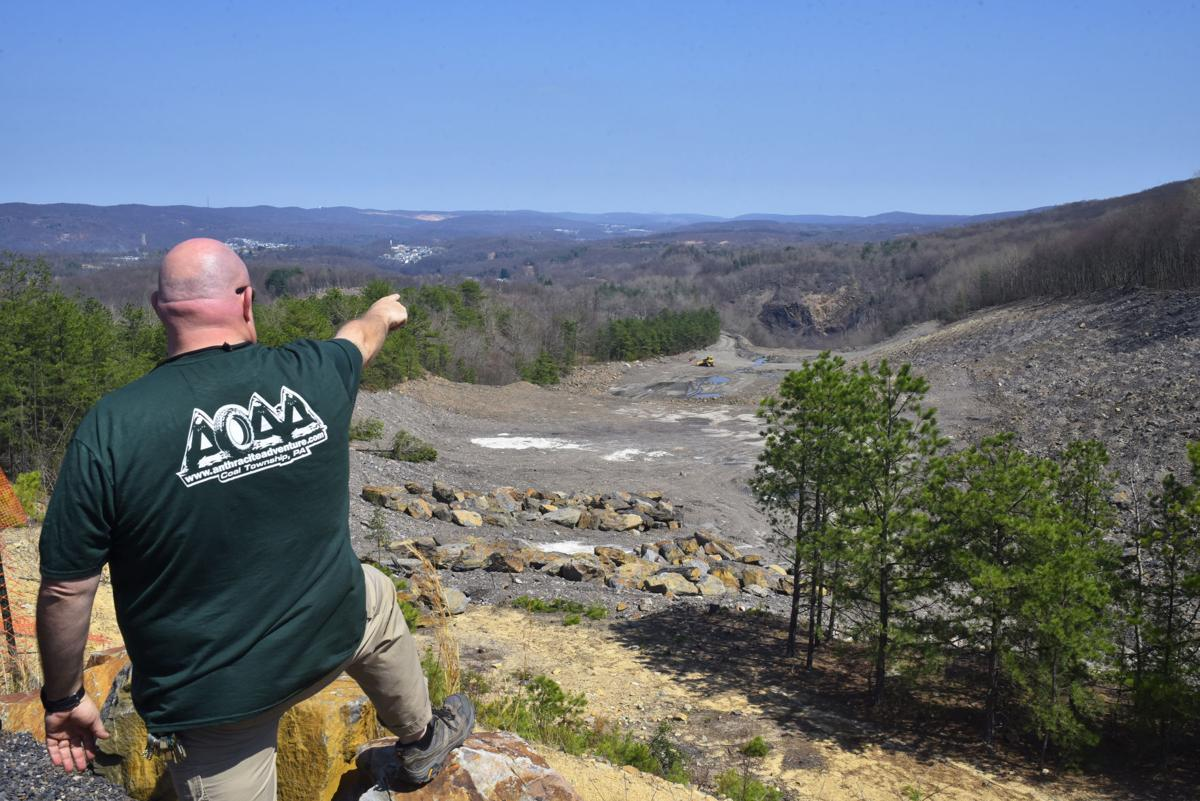 A 'mammoth scale,' $9.7 million reclamation project continues to take shape