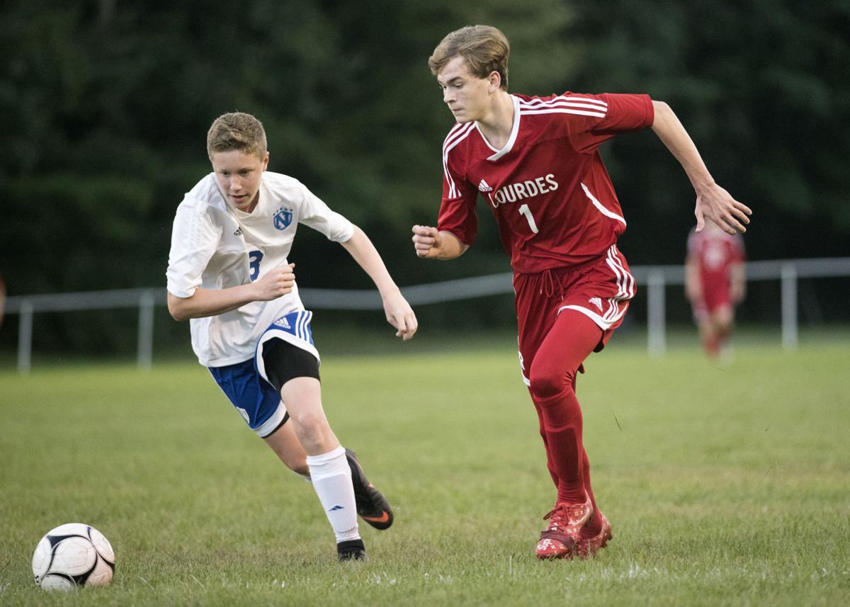 OLOL versus NCS boys soccer