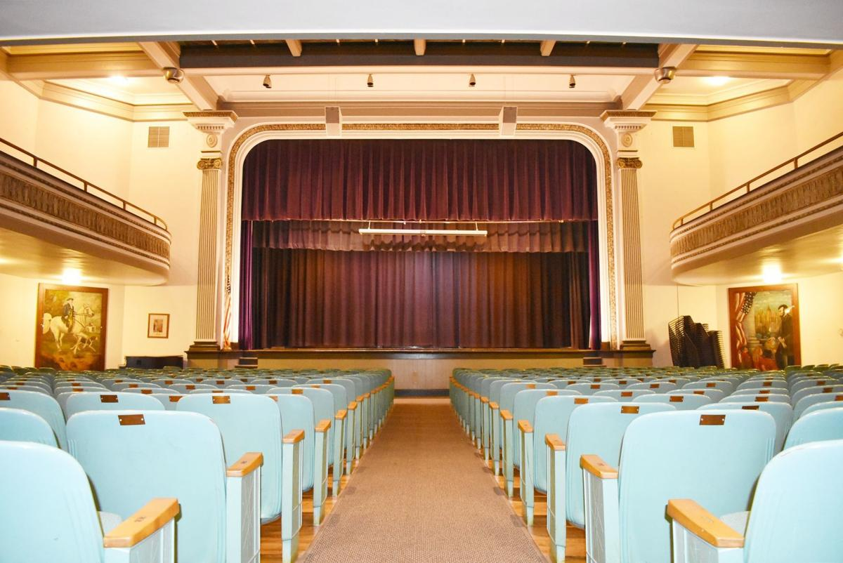 NCCAC auditorium ground-level audience view