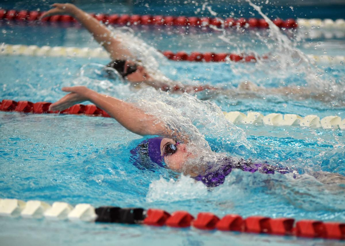Shamokin versus Mount Carmel swimming