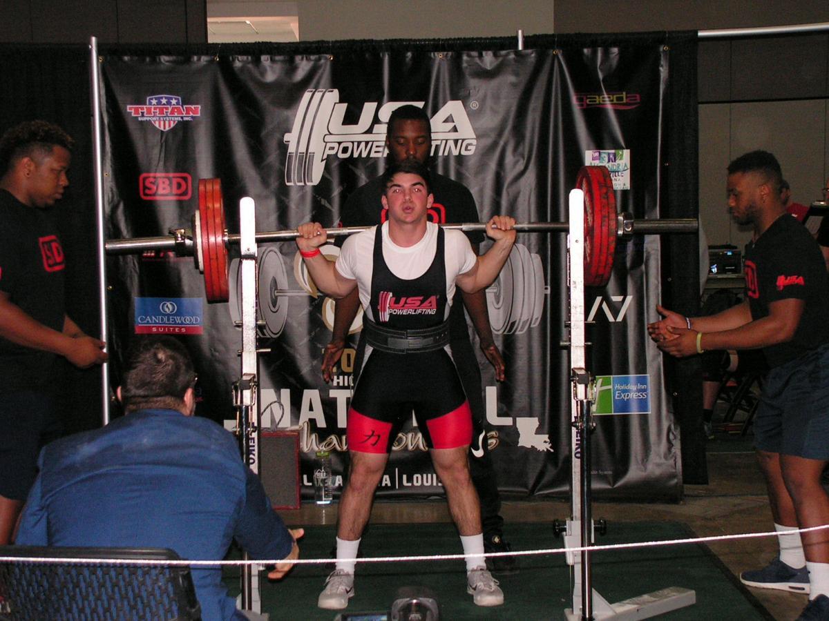 Witkoski earns bronze in Louisiana