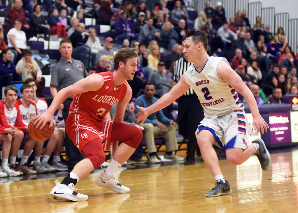 H.S. Boys Basketball: Lourdes versus North Schuylkill