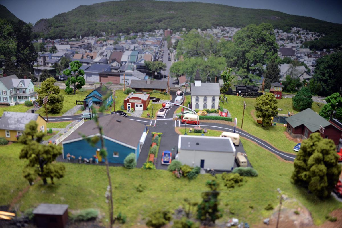 Scenery from a train display
