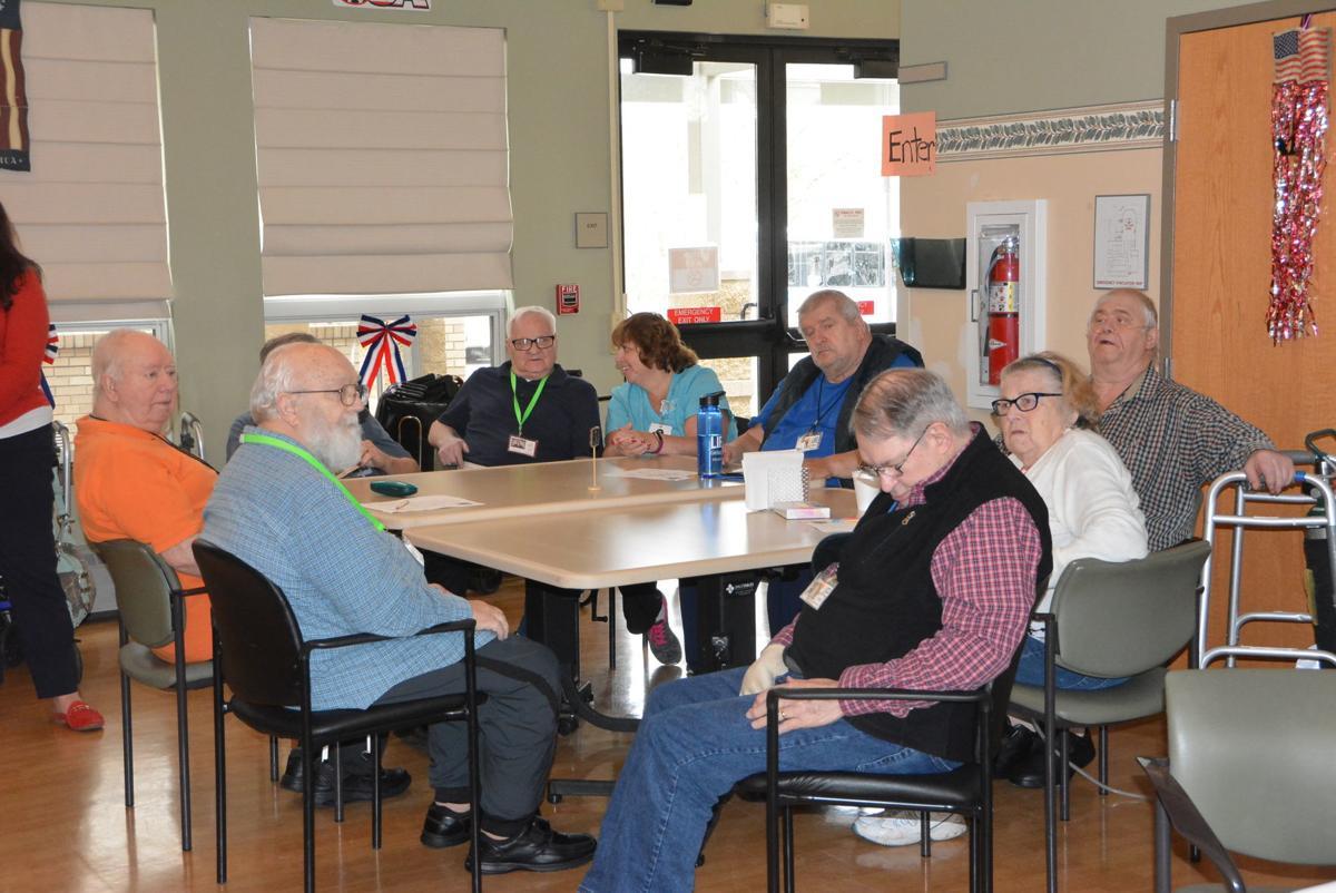 Group veteran table