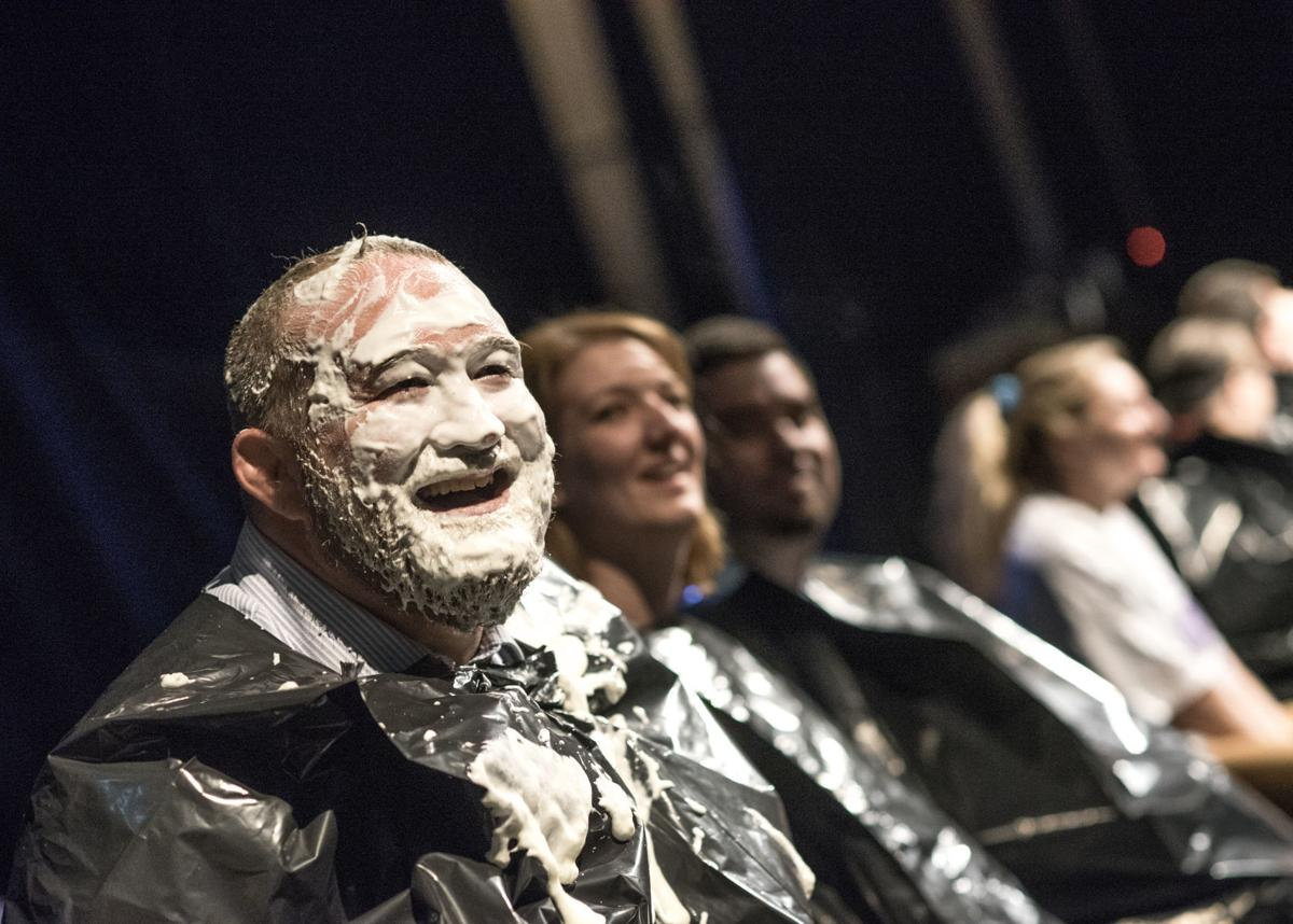 Teachers, administrators at Shamokin Area receive a pie in the face for charitable cause; junior plans inaugural Mini-THON