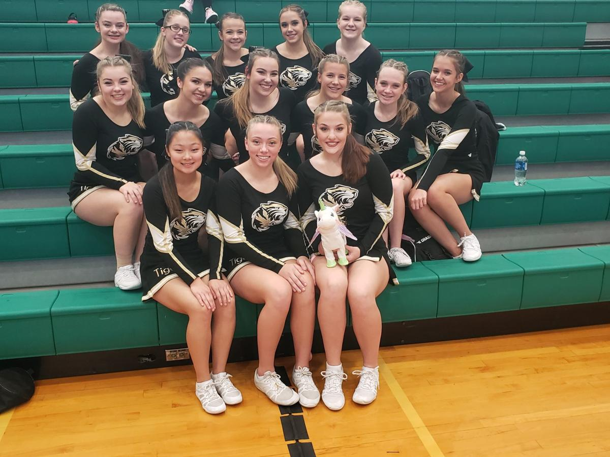 SCA Cheer team