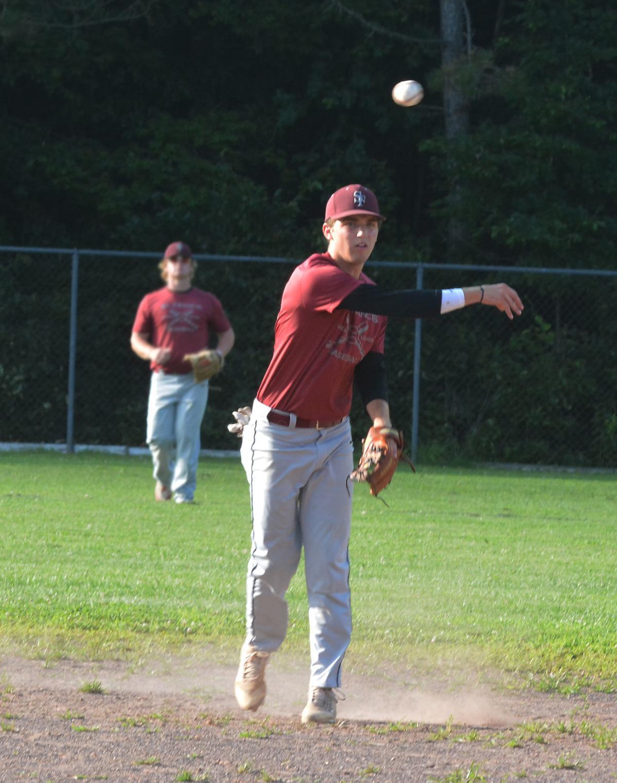 Legion Baseball: Salamone at shortstop