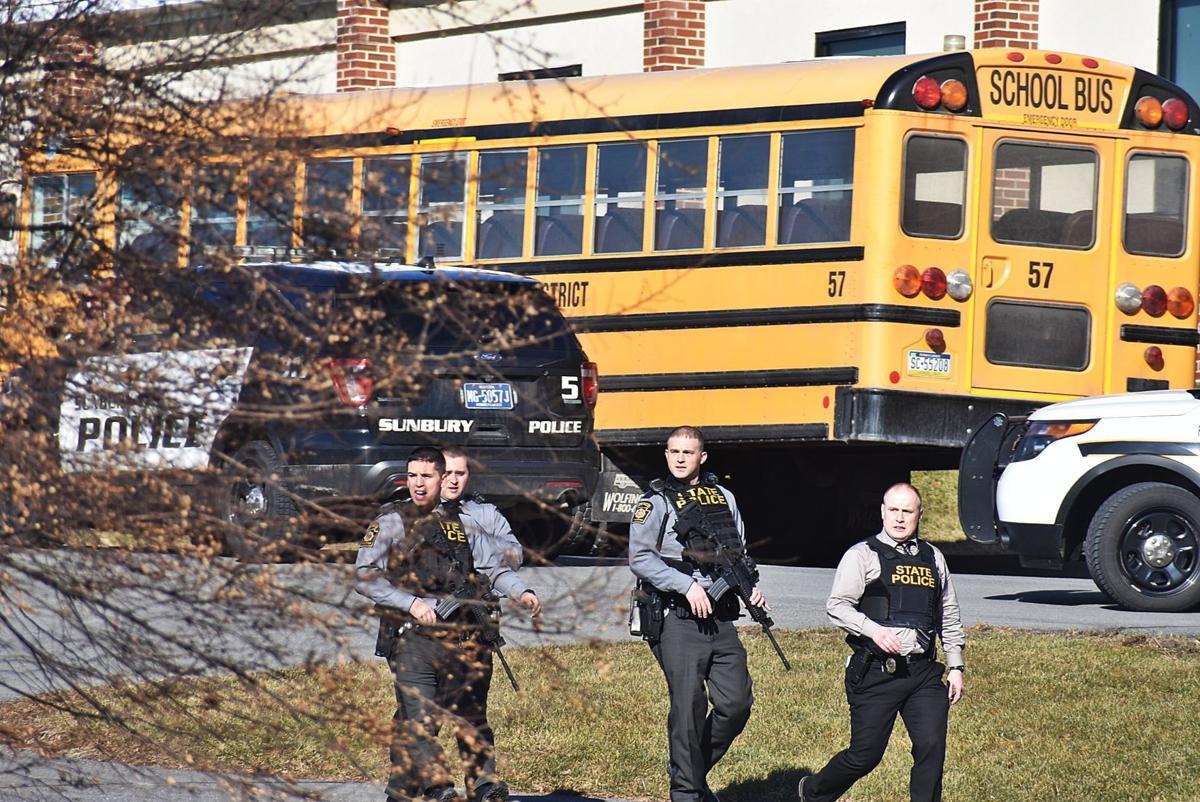 PSP patrol near school bus
