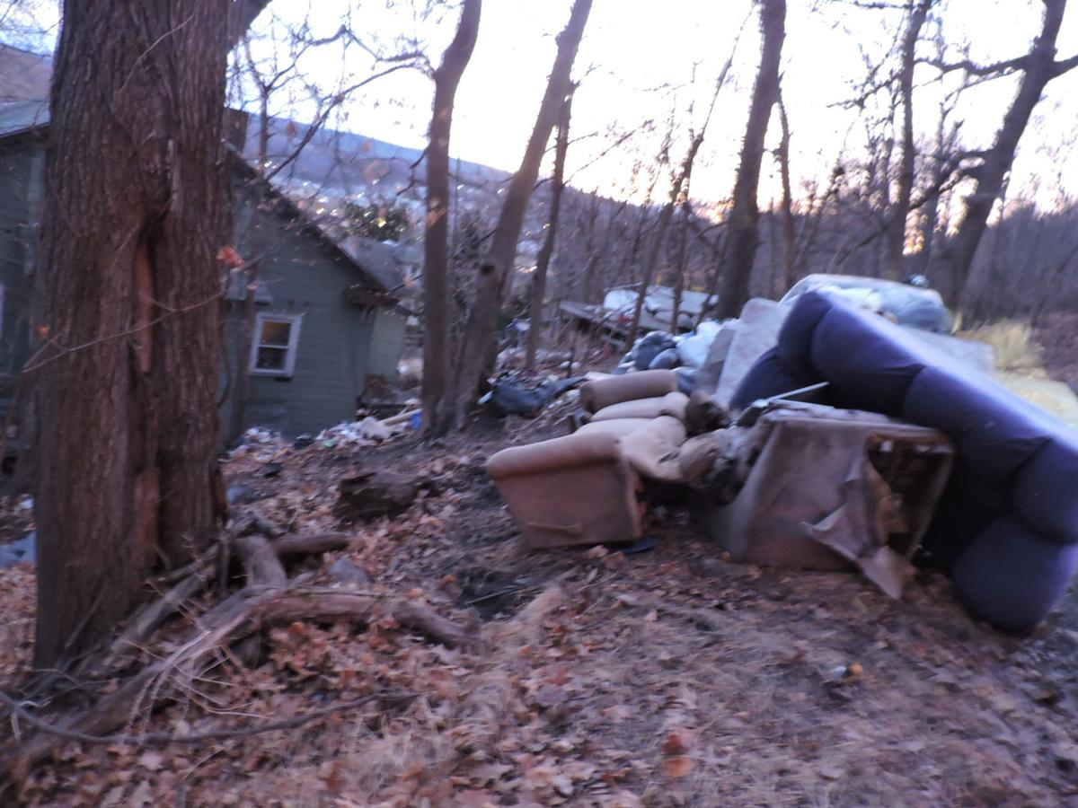 Illegal dumping at Orange and Packer street
