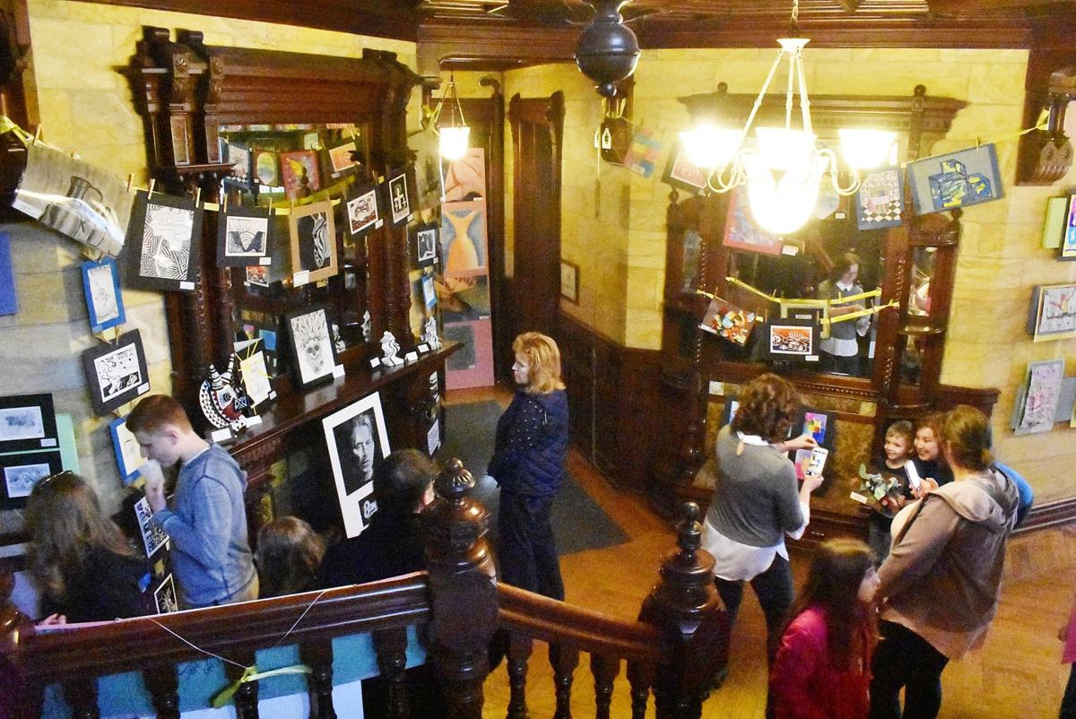 Local talent on display at Student Art Open House