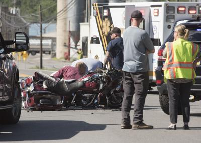 Motorcycle driver dies from injuries in crash; investigation continuing