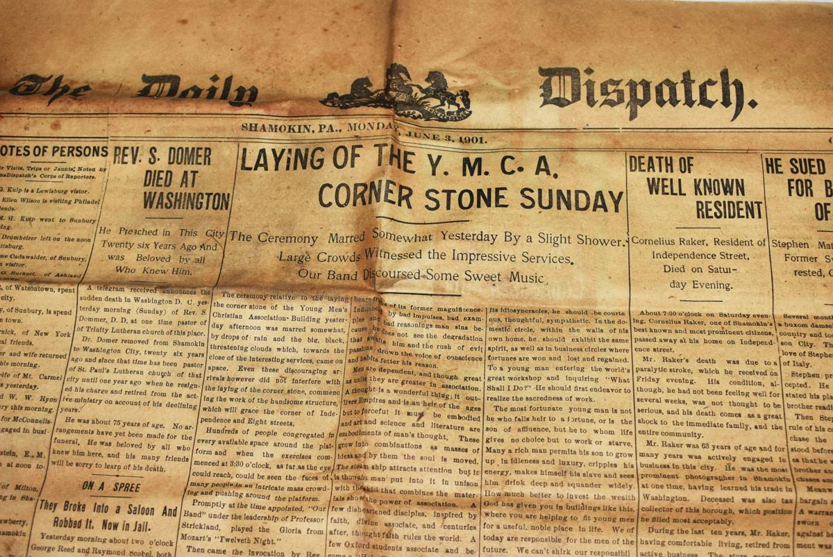 Time capsule newspaper article