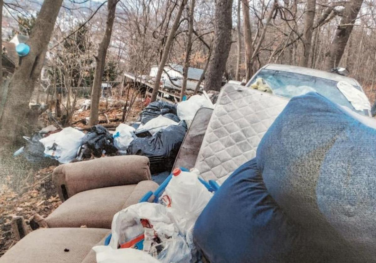 Illegal Dumping in Shamokin