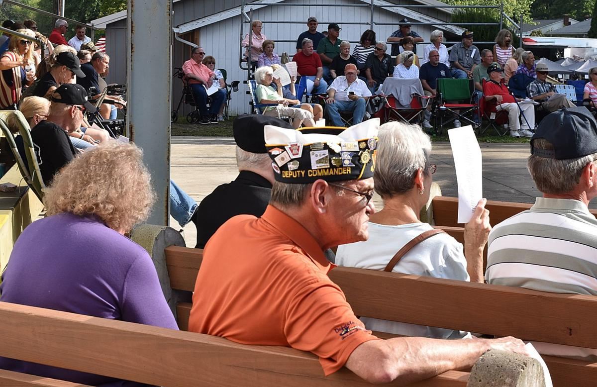 Large crowd attends Veterans Memorial Service