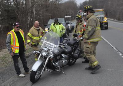 One injured in motorcycle crash in Mt. Carmel Twp.