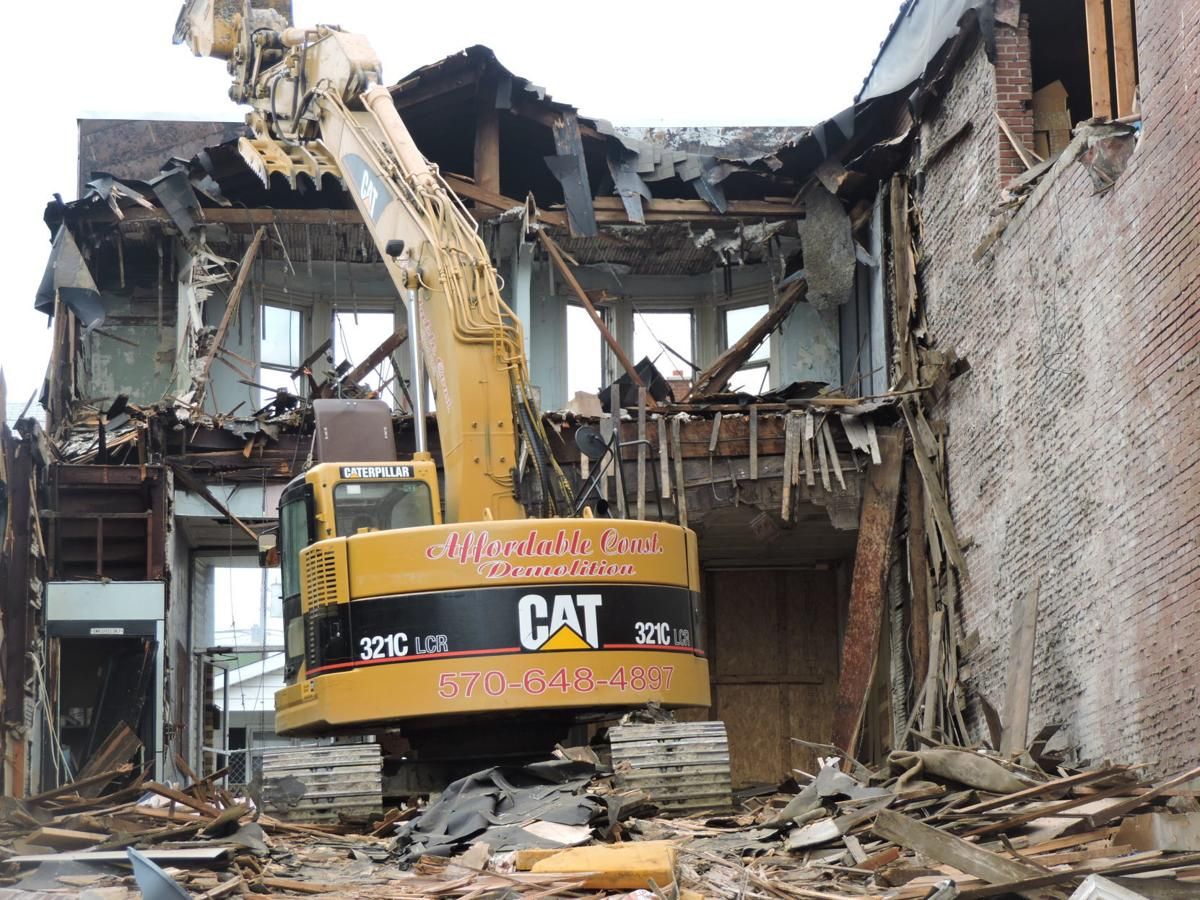Demolition picture number one