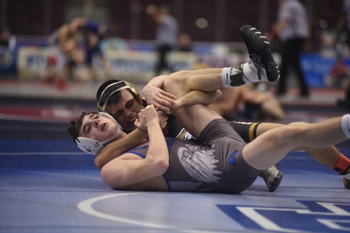 SCA wrestling quarterfinals