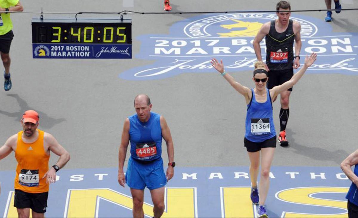 Three-time Boston Marathon finisher: 'Be proud of your accomplishments'