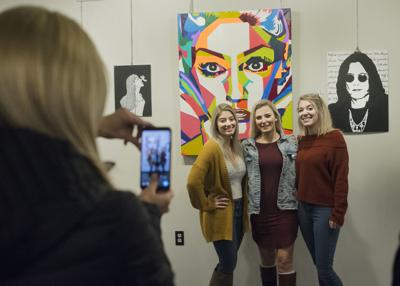 Shamokin High School students' artwork showcased at Northumberland County Career and Arts Center