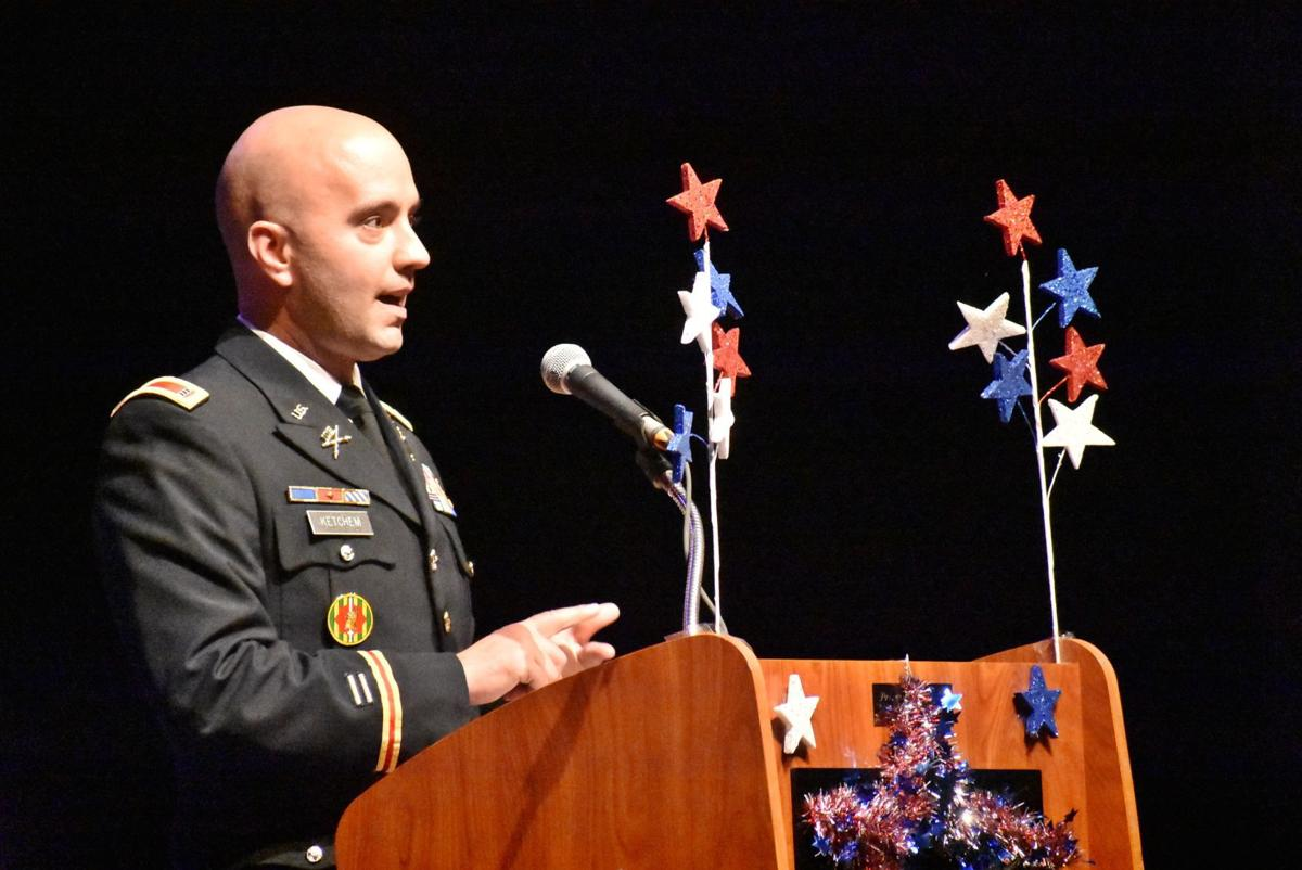 SAHS Veterans Day program guest speaker