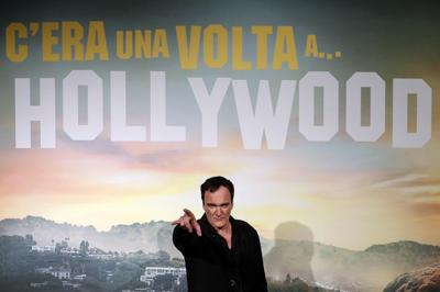 Italy Film Once Upon A Time...in Hollywood