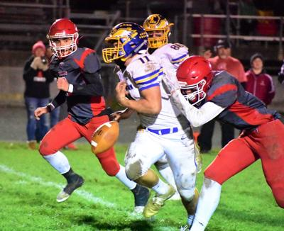 H.S. Football: Line Mountain at Troy
