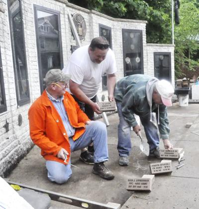Price of Freedom Monument paver project underway
