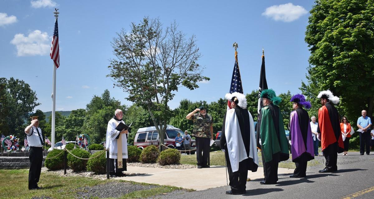 Springfield Veterans Memorial rededication ceremony