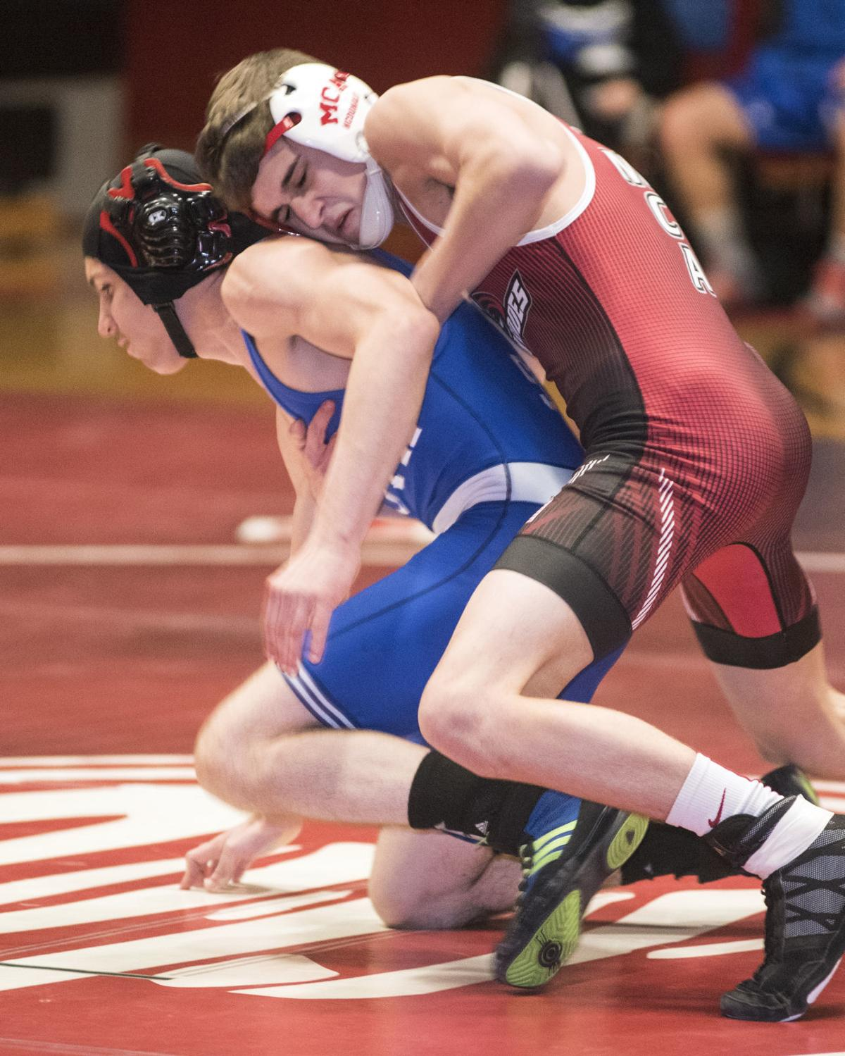 H.S. Wrestling: Mount Carmel defeats South Williamsport