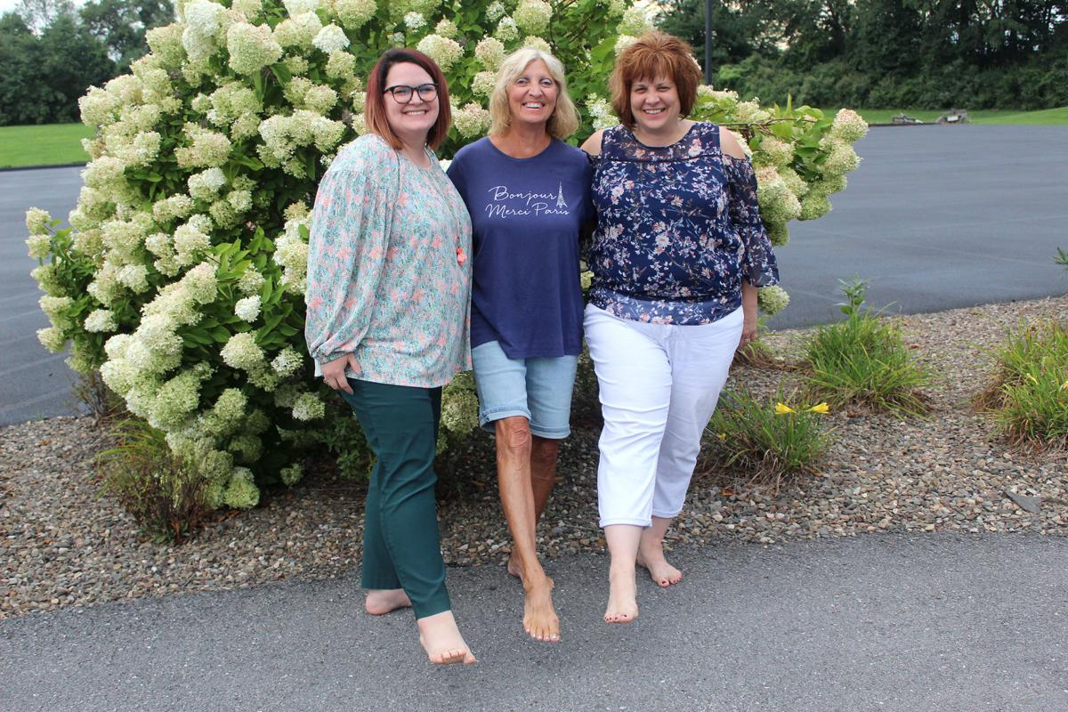 Walking 'The Barefoot Mile'
