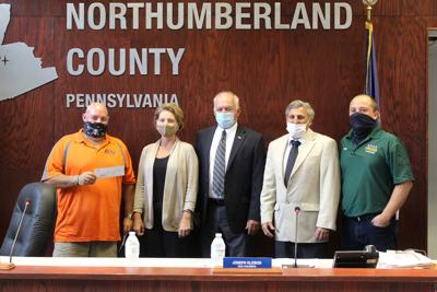 AOAA presents $68,500 check to Northumberland County