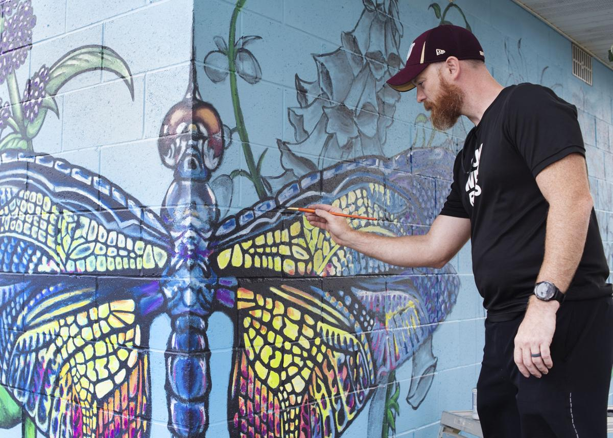 Mural coming to life