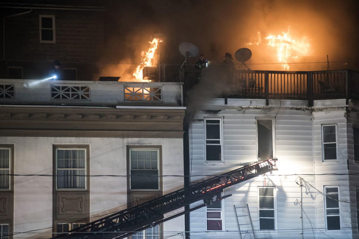 Lincoln Street fire