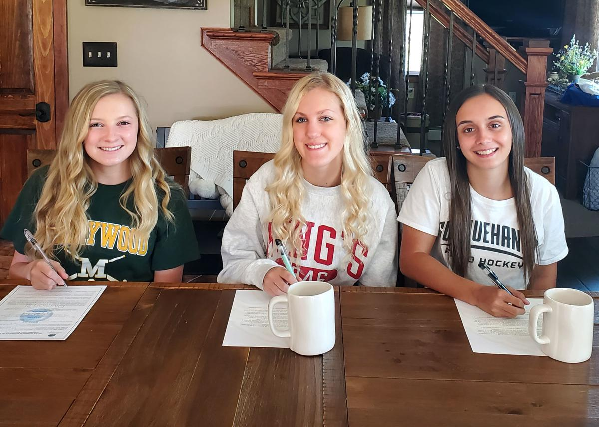 Three Line Mountain field hockey players at further athletic careers