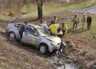 Accident in Rush Township