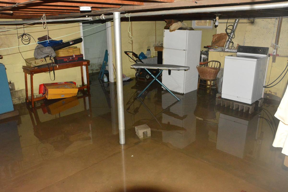 Basements Flood In Mount Carmel Local Pre Wiring Basement Beech Street Flooded