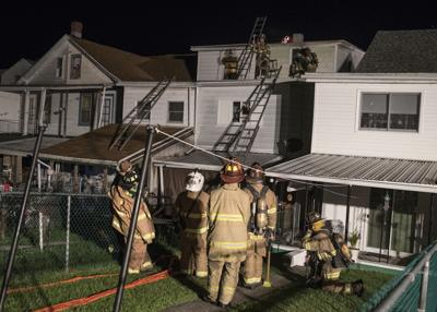 Male juvenile suffers burns in early morning house fire in Mount Carmel