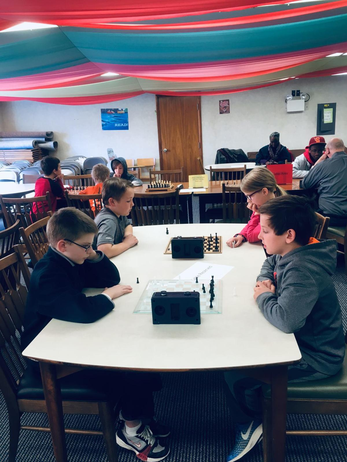 Shamokin Library Chess Club