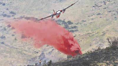 Friday's vegetation fire scorches 23 acres along Highway 38