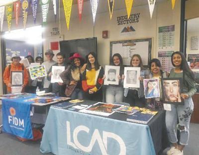 Yucaipa High School art students shine